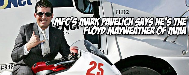 MFC's Mark Pavelich says he's the Floyd Mayweather of MMA