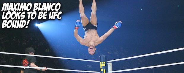 Maximo Blanco looks to be UFC bound!