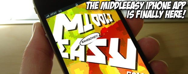 The MiddleEasy iPhone App is FINALLY HERE!