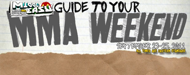 Check out the MiddleEasy Guide to Your MMA Weekend