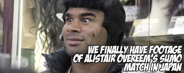 We Finally Have Footage Of Alistair Overeem S Sumo Match In