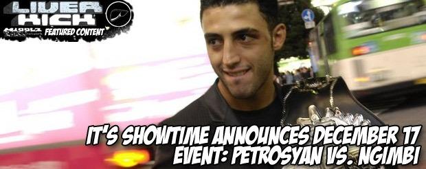 It's Showtime announces December 17 event: Petrosyan vs. Ngimbi