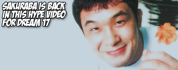 We found this amazing video of Sakuraba, and if you don't like it, we can't be friends anymore