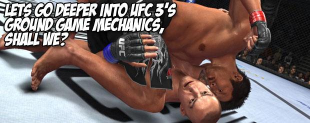 Let's go deeper into UFC 3's ground game mechanics, shall we?