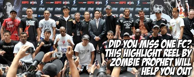 Did you miss ONE FC? This highlight reel by Zombie Prophet will help you out