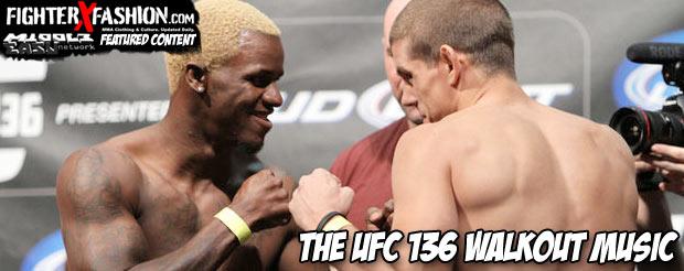 The UFC 136 walkout music