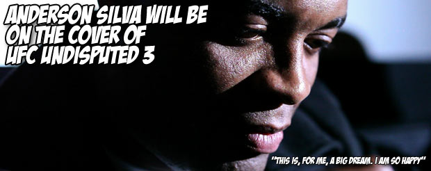 Anderson Silva will be on the cover of UFC Undisputed 3