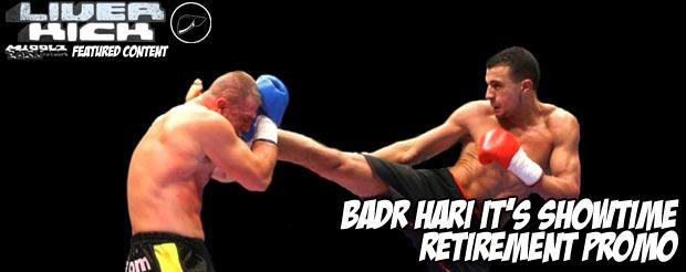 Badr Hari It's Showtime retirement promo