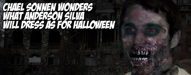 Chael Sonnen wonders what Anderson Silva will dress as for Halloween