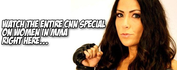Watch the entire CNN special on women in MMA right here…