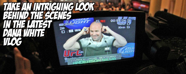 Take an intriguing look behind the scenes in the latest Dana White Vlog