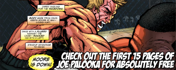 Check out the first 15 pages of Joe Palooka for absolutely free