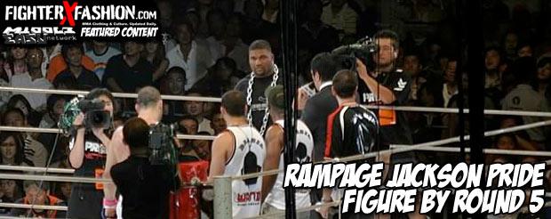 Rampage Jackson PRIDE figure by Round 5