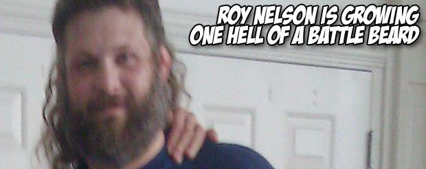 Roy Nelson is growing one hell of a Battle Beard