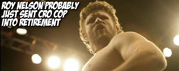 Roy Nelson probably just sent Cro Cop into retirement