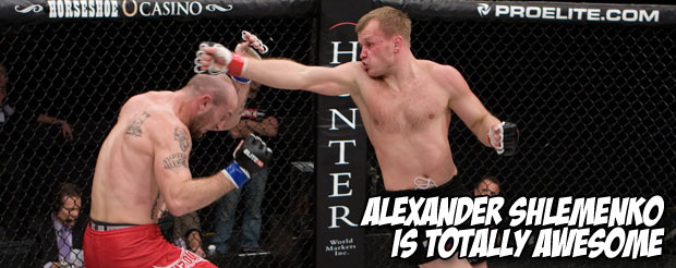 Alexander Shlemenko is totally awesome