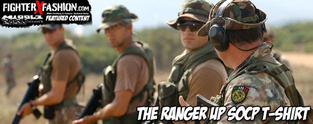The Ranger Up SOCP t-shirt
