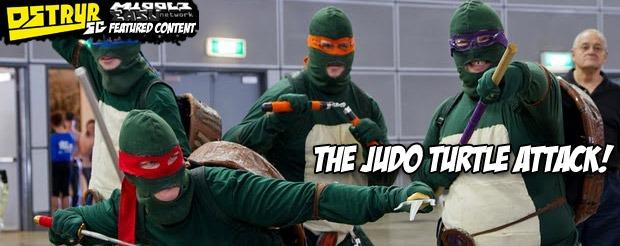 The Judo Turtle Attack