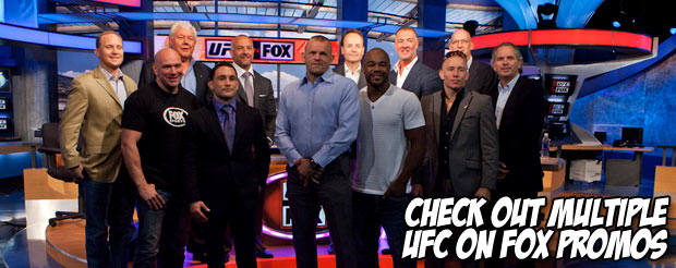 Check out multiple UFC on Fox promos