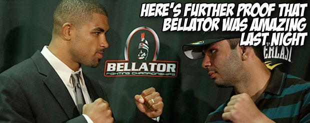 Here's further proof that Bellator was amazing last night