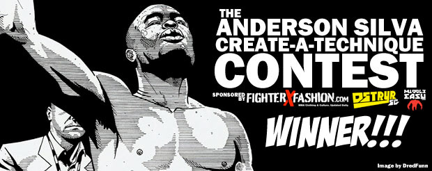 The Anderson Silva Create-a-Technique Contest Winner!