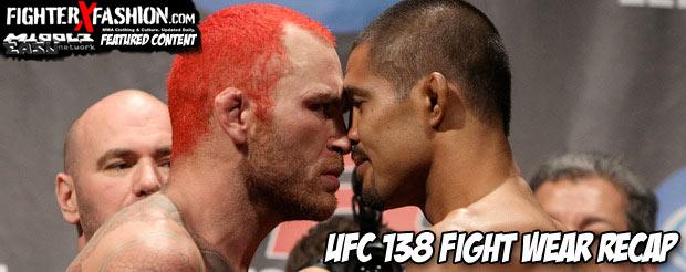 UFC 138 fight wear recap