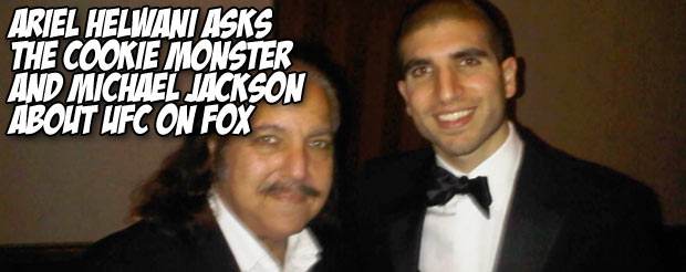 Ariel Helwani asks the Cookie Monster and Michael Jackson about UFC on Fox