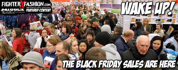 Wake up! The Black Friday sales are here