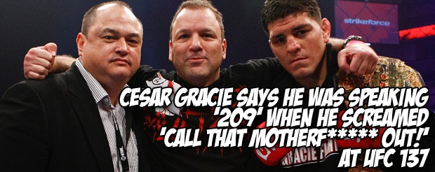 Cesar Gracie responds to BJ Penn calling out Nick Diaz on Twitter
