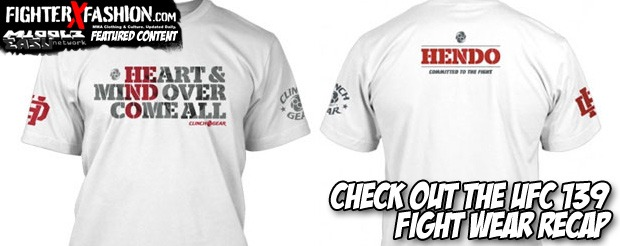 Check out the UFC 139 fight wear recap
