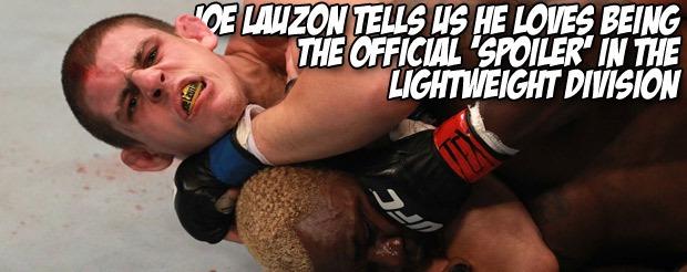 Joe Lauzon wants to set the record straight