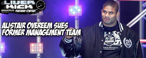 Alistair Overeem sues former management team