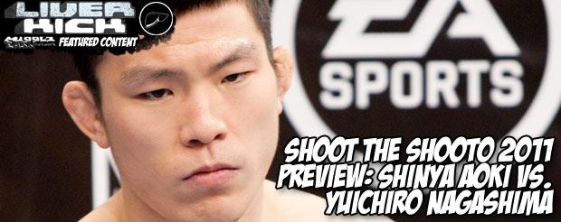 Shoot the Shooto 2011 preview: Shinya Aoki Vs. Yuichiro Nagashima
