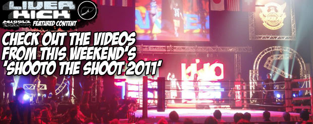 Check out the videos from this weekend's 'Shooto the Shoot 2011'
