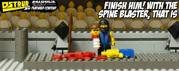 Finish Him! With the Spine Blaster, that is