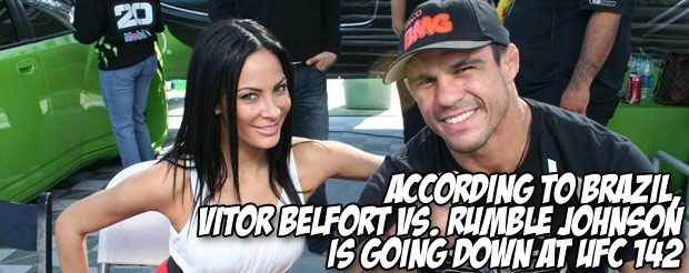 Vitor Belfort wants to show you a gnarly head gash he received 10 days before fighting Bisping