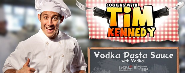Cooking with Tim Kennedy: Vodka Pasta Sauce