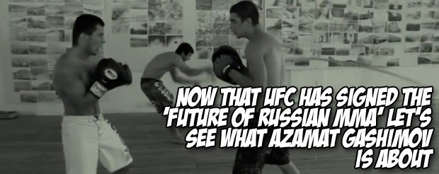 Now that UFC has signed the 'future of Russian MMA' let's see what Azamat Gashimov is about