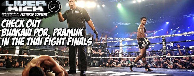 Check out Buakaw Por. Pramuk in the Thai Fight finals