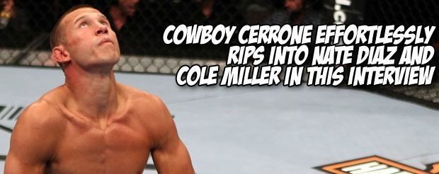 Cowboy Cerrone makes Melvin Guillard pay for wearing sunglasses indoors