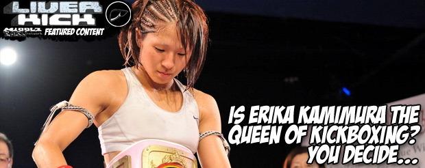 Is Erika Kamimura the Queen of Kickboxing? You decide…
