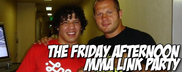 The Friday Afternoon MMA Link Party