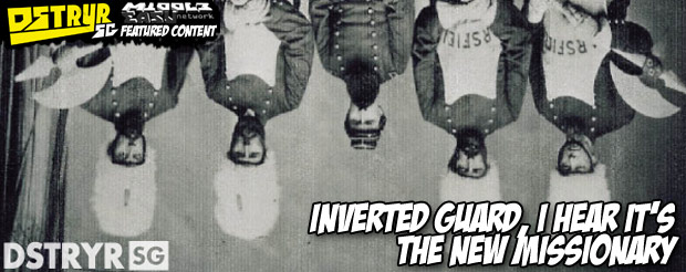 Inverted guard, I hear it's the new missionary