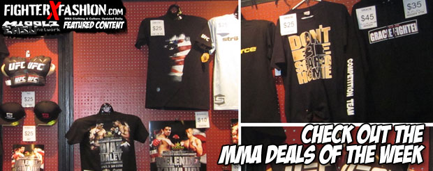 Check out the MMA deals of the week