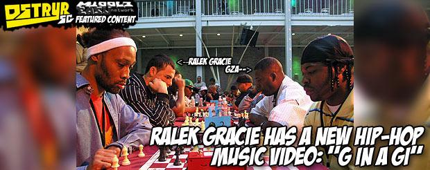 "Ralek Gracie has a new hip-hop music video: ""G in a Gi"""