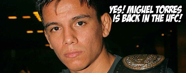 Yes! Miguel Torres is back in the UFC!
