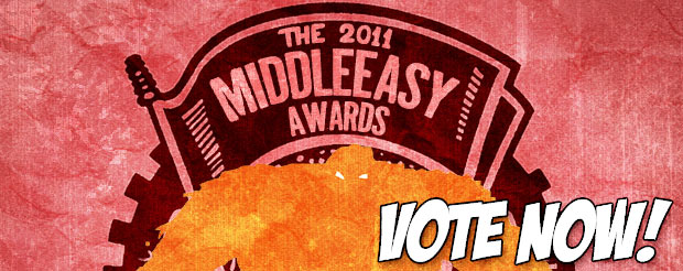 The 2011 MiddleEasy Awards are here! Vote NOW!
