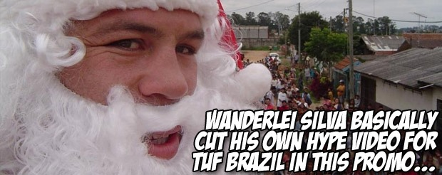 Wanderlei Silva basically cut his own hype video for TUF Brazil in this promo…