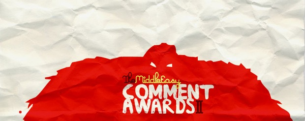 The MiddleEasy Comment Awards II