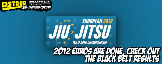 2012 Euros are done, check out the black belt results